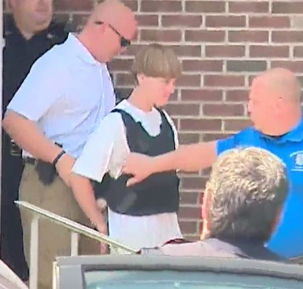 Raw video: Dylann Roof