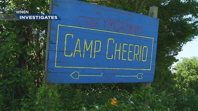 Camp Cheerio in the North Carolina mountains.