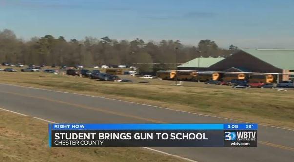 SC teacher finds gun at school_120719