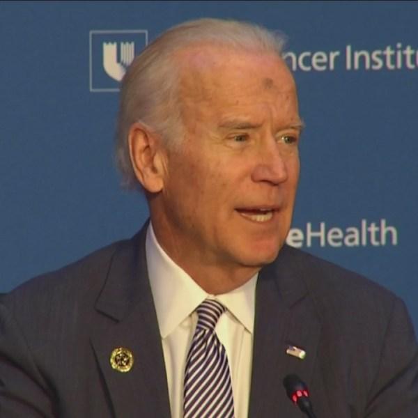 Vice President Joe Biden visits Duke, discusses fight against cancer