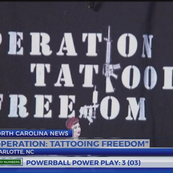 North Carolina group using tattooing as therapy for veterans