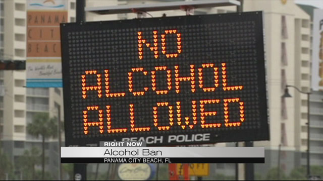 No alcohol Panama City Beach_160290