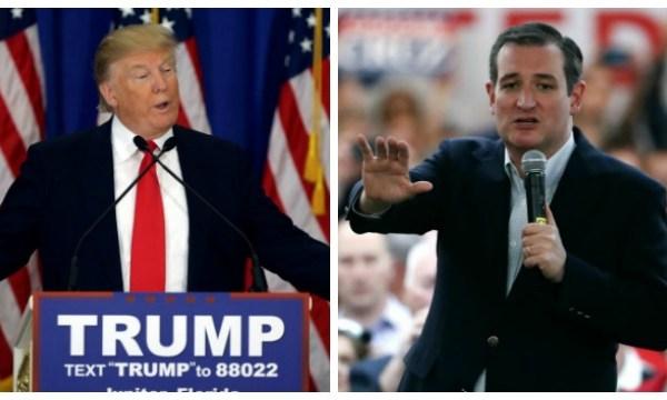 AP photos of Trump_Cruz_169110