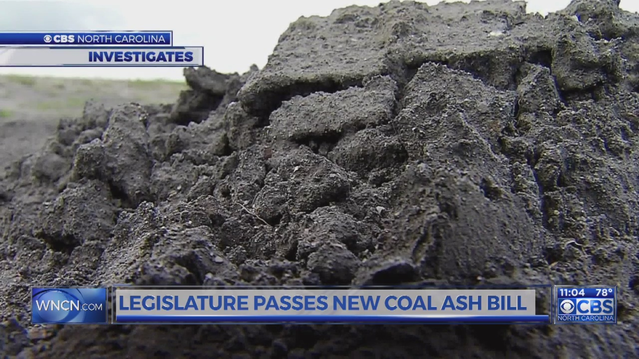 Controversial coal ash bill heads to McCrory