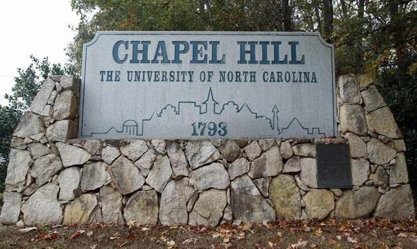 unc chapel hill generic welcome sign_30189