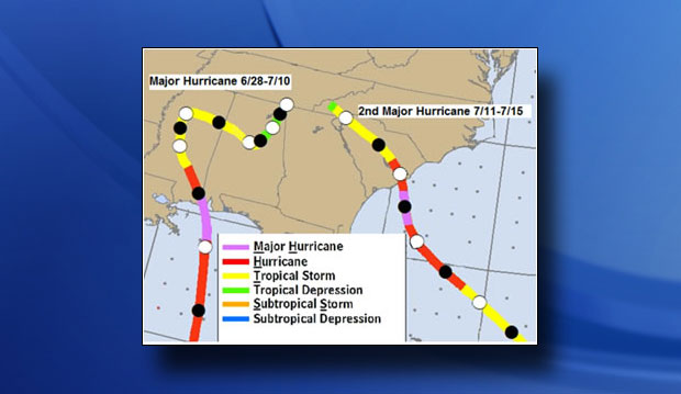 1916 hurricane paths_311109