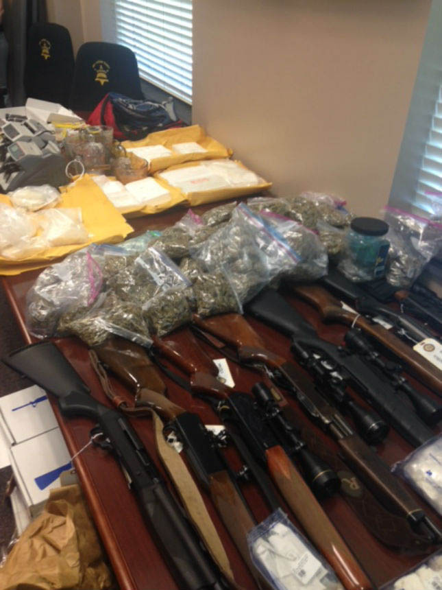 NC drug bust nets 11 pounds of cocaine, 23 pounds of