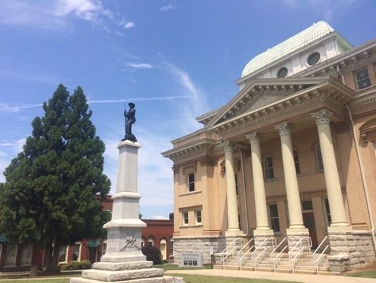 Randolph County confederate statue_463468
