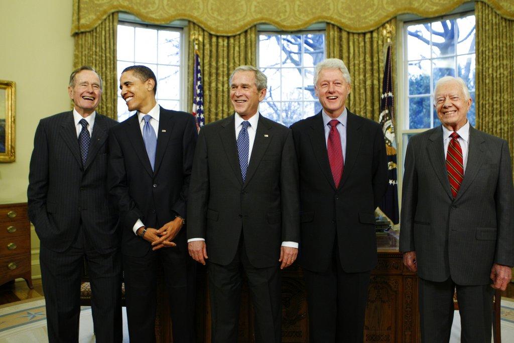 Ex-Presidents Hurricanes_481994