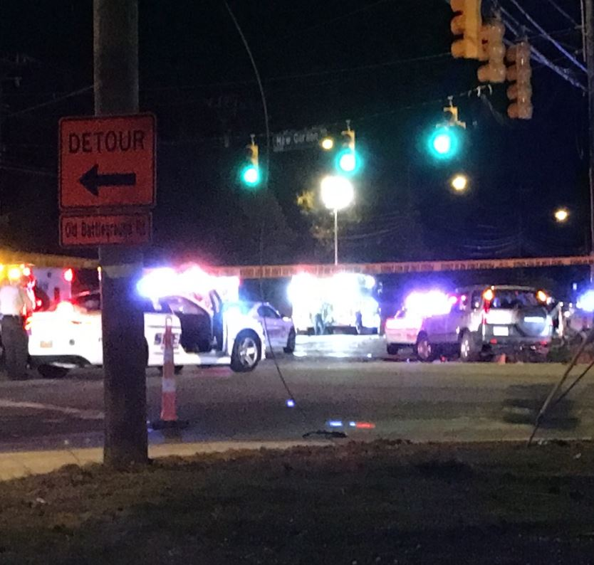 5 dead in NC crash involving stolen car chased by deputy