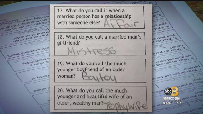 middle school controversial quiz_529010