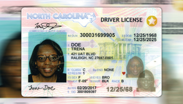 order replacement drivers license nc