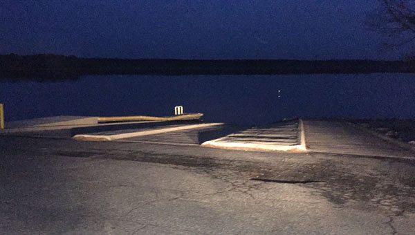 falls lake boat ramp_572345