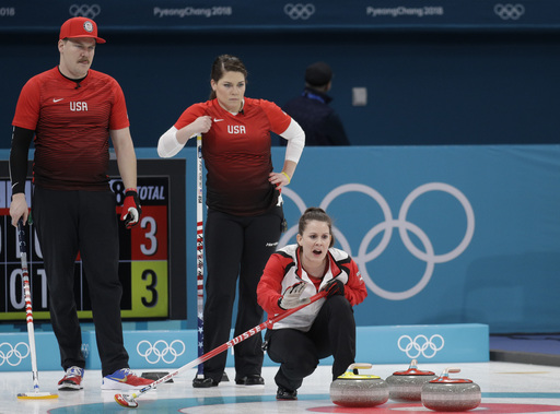 Pyeongchang Olympics Curling_590061