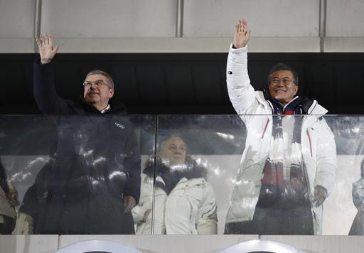 Pyeongchang Olympics Opening Ceremony_590289