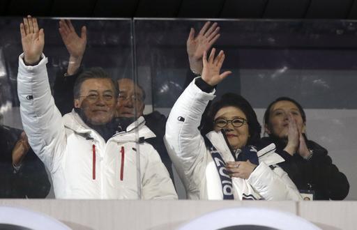 Pyeongchang Olympics Opening Ceremony_590299