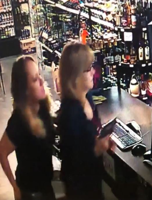 VIDEO: Mom and daughter shoot man who tried to rob liquor