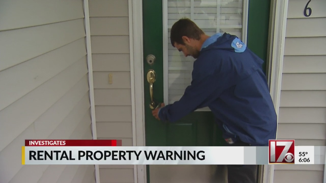 Raleigh man ripped off in rental house scam