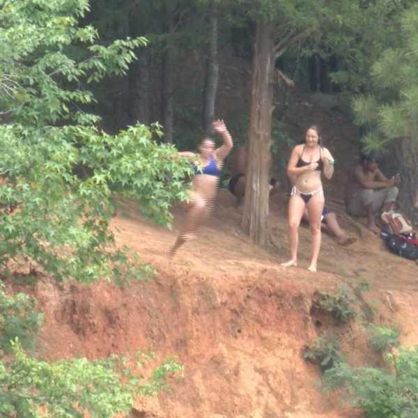 eno river park quarry jumping
