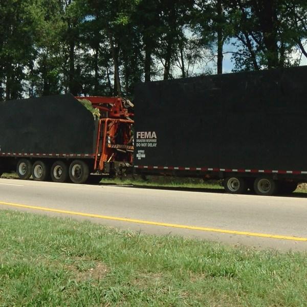 fema truck I-440