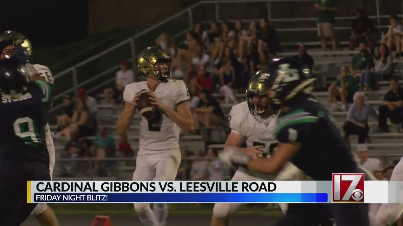 Cardinal Gibbons rides out large lead to beat Leesville Road