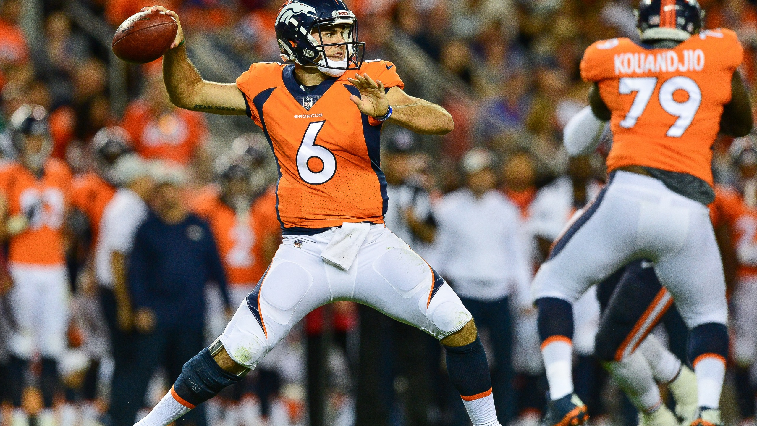 the best attitude b6e44 5654f Broncos cut Chad Kelly a day after trespassing arrest