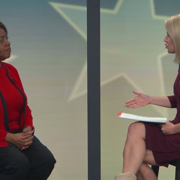 Linda Coleman talks with CBS 17's Angela Taylor