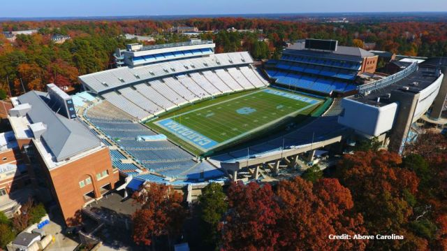 UNC to offer beer and wine at home football games