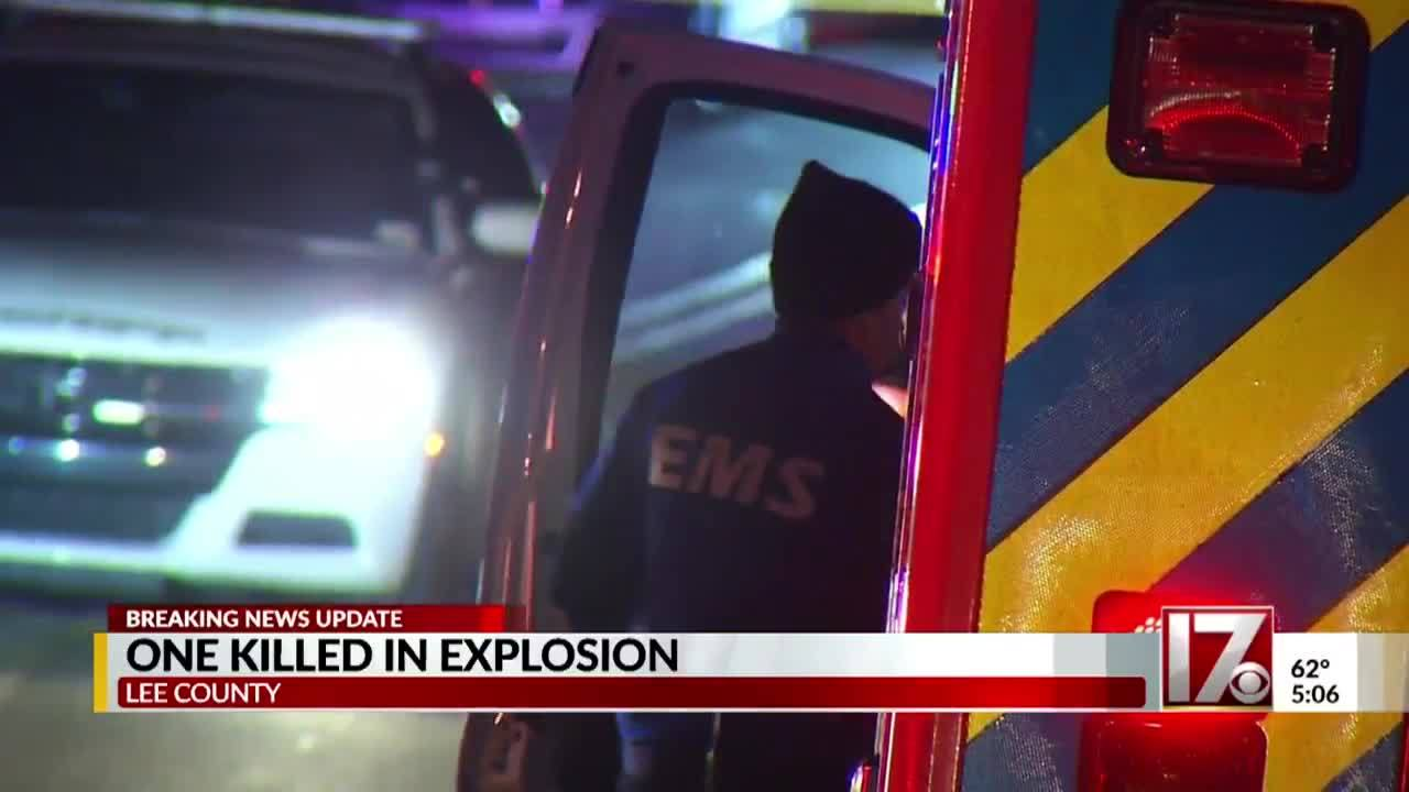 Man dies in Sanford explosion sparked while fueling drag