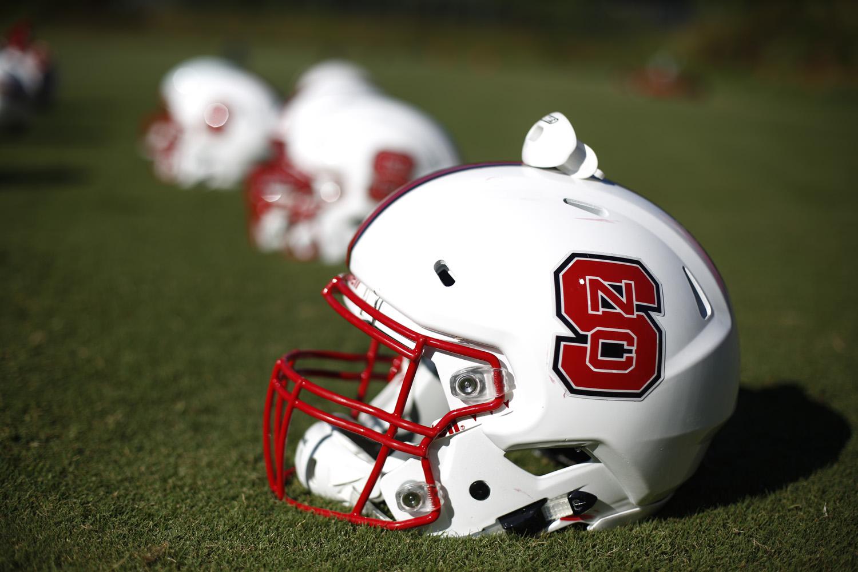 NC State football helmet generic
