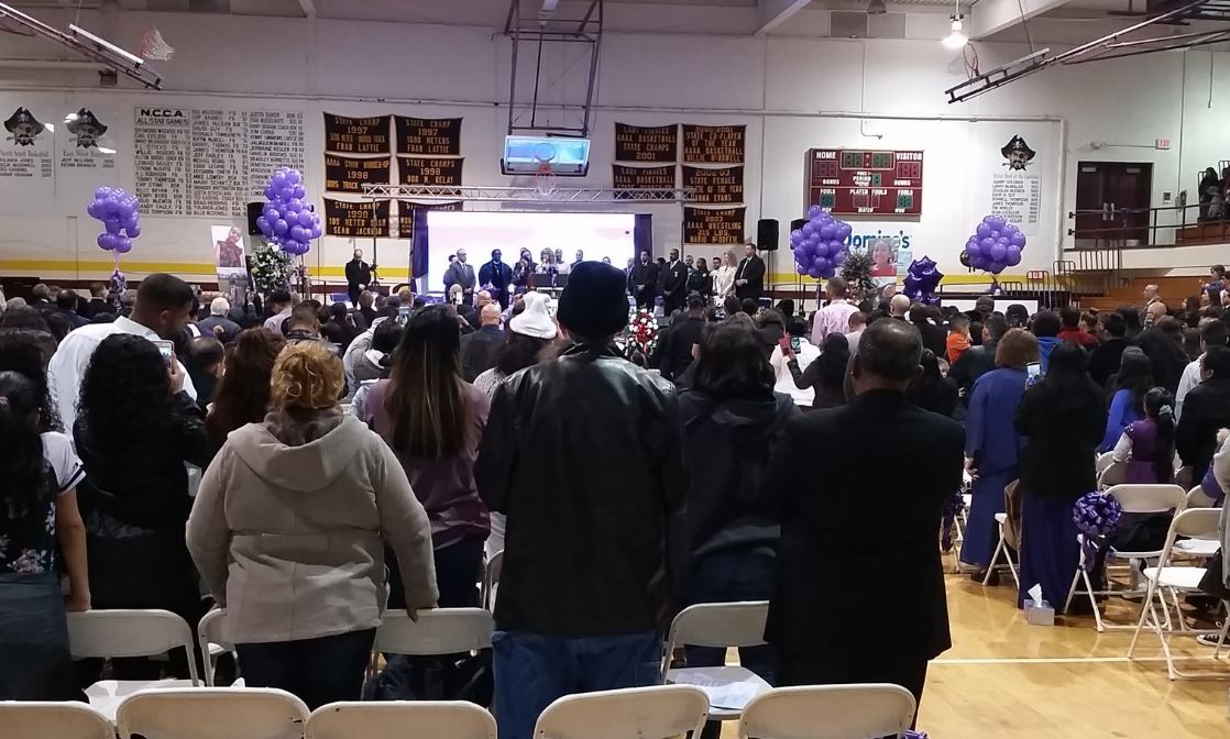 Nearly 1,000 gather at Hania Aguilar's funeral hours after arrest