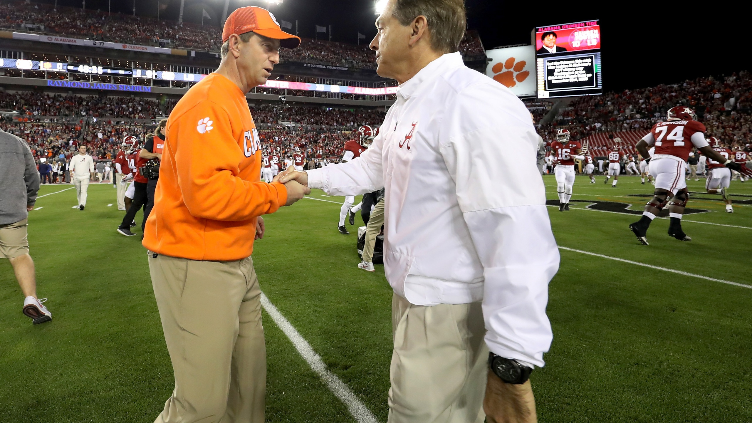 Dabo Swinney Nick Saban