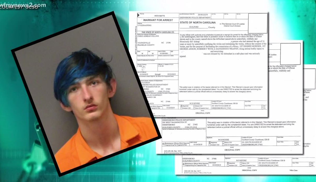 Franklin County teen charged after NC double homicide arson