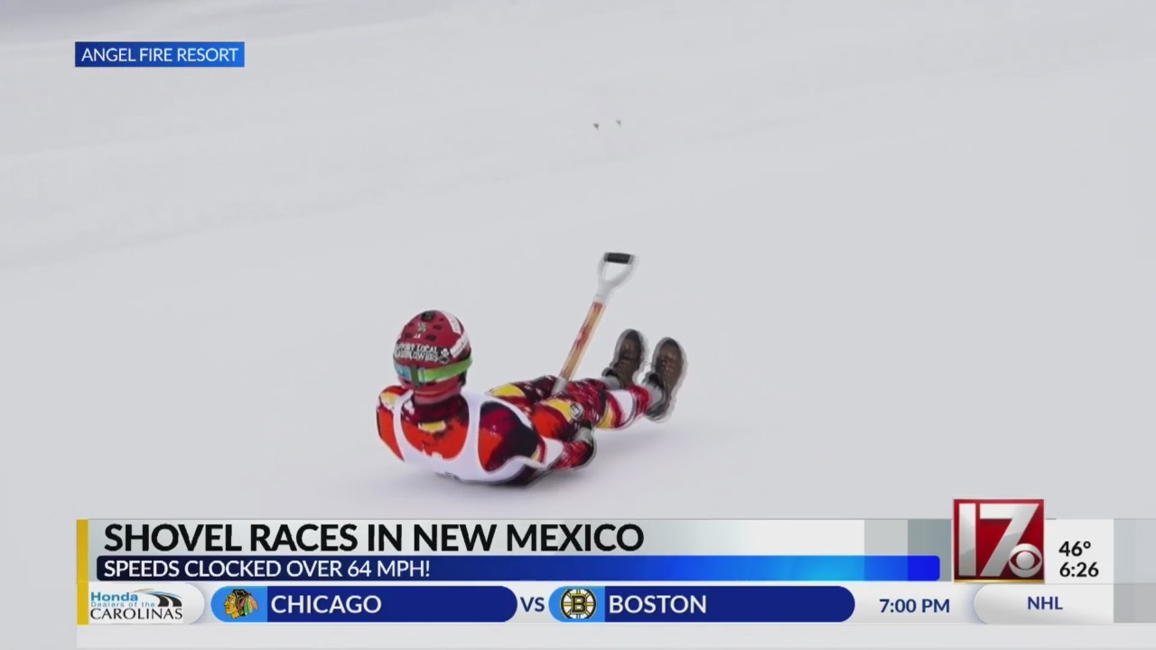 How fast can you ride a shovel? Dozens compete at New Mexico