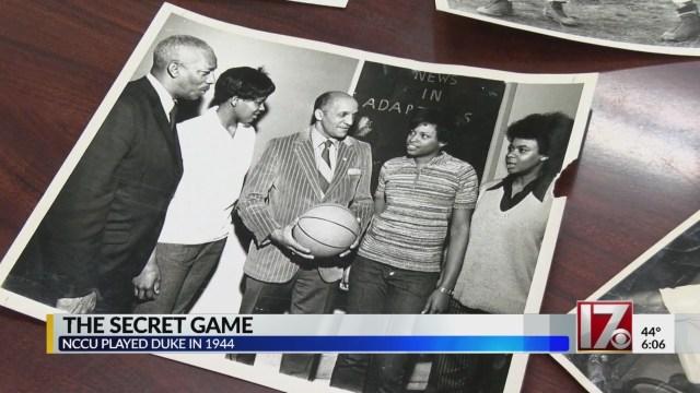 Duke, NC Central played secret basketball game 75 years ago during segregation era