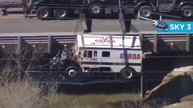 Person seriously injured after armored truck crashes into NC