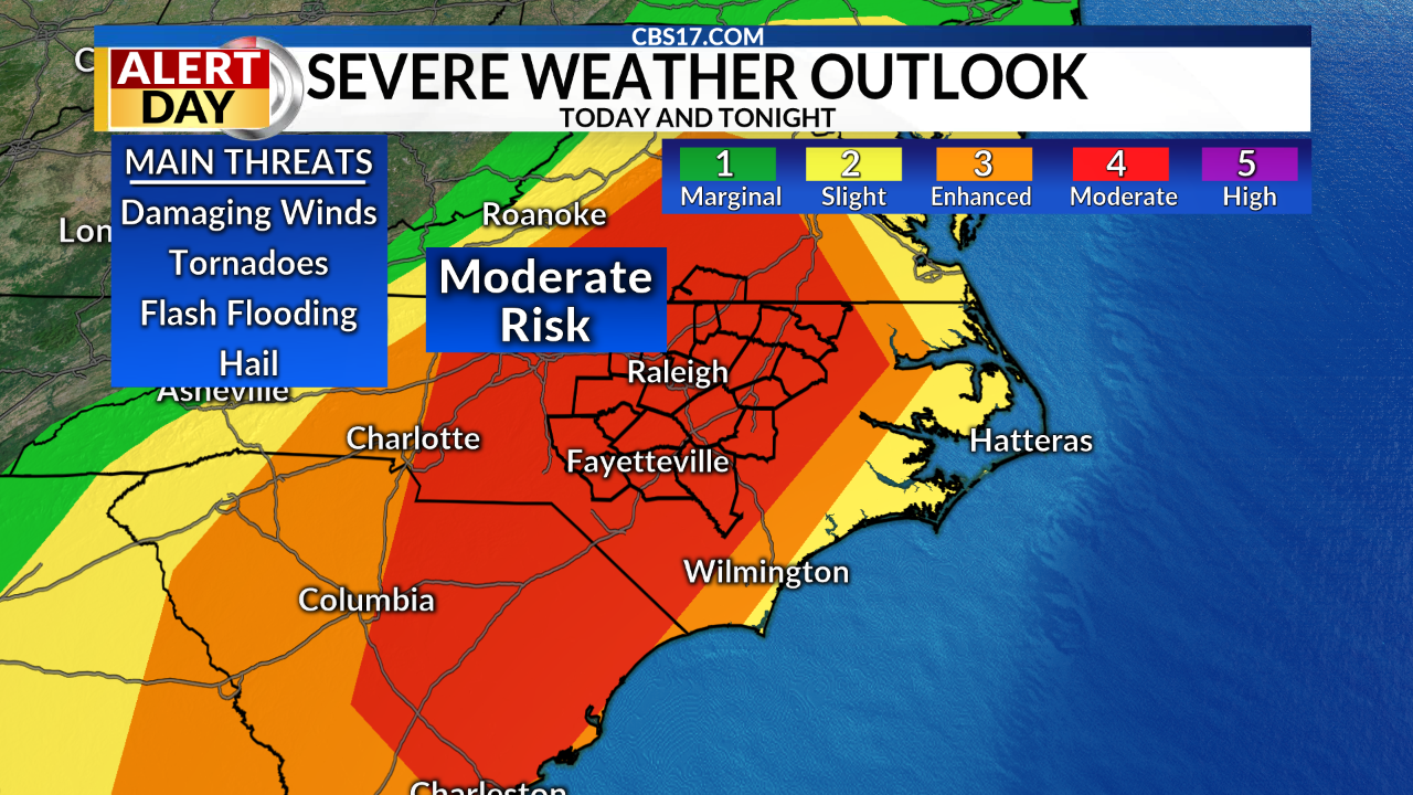 April 19: Significant Severe Threat Today