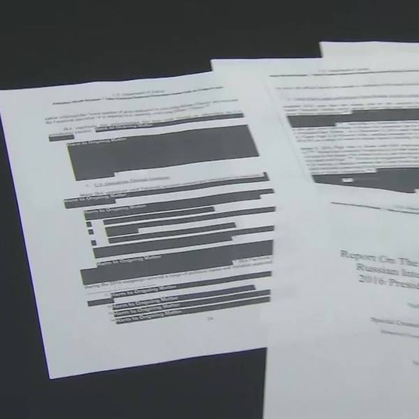 President Trump, Congressional leaders react to release of redacted Mueller report