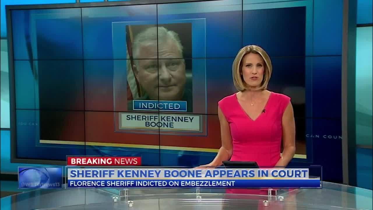 Embattled South Carolina sheriff placed under house arrest