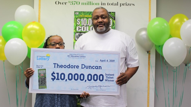 NC grandfather wins $10 million from scratch-off, plans to buy dream home