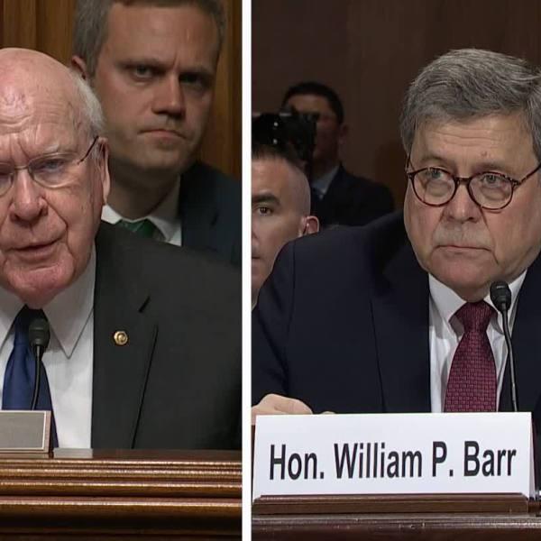 AG Barr Testifies on Handling of Mueller Report