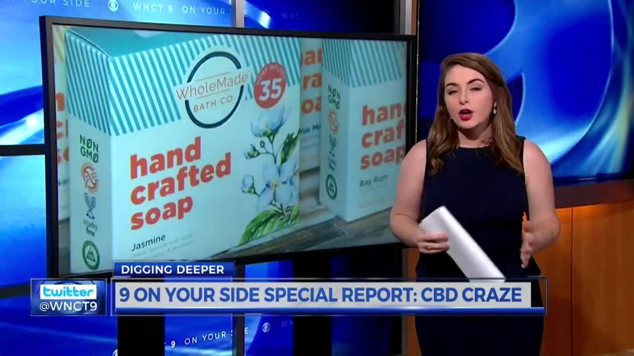 CBD Craze: Looking deeper into products made with CBD