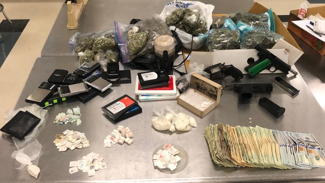 Henderson traffic stop leads to drug and weapons arrest
