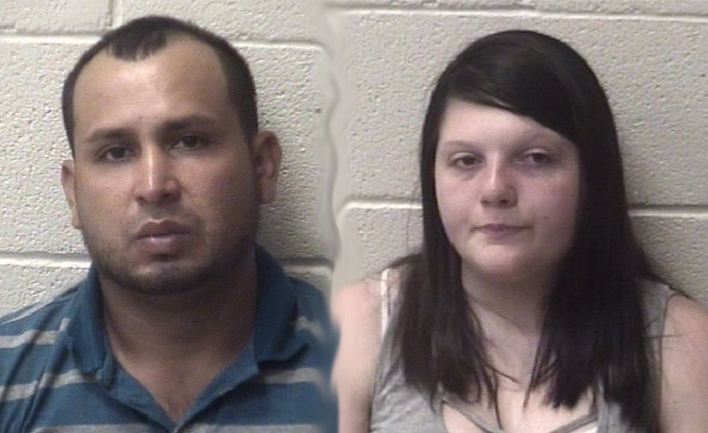 Areli Aguiree Avilez (left) and Heidi Darlene Wolfe. (Courtesy of the Alexander County Sheriff's Office via WBTV)