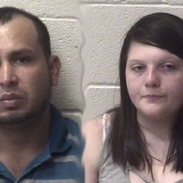 Areli Aguiree Avilez (left) and Heidi Darlene Wolfe. (Courtesy of the Alexander County Sheriff's Office via WBTV)