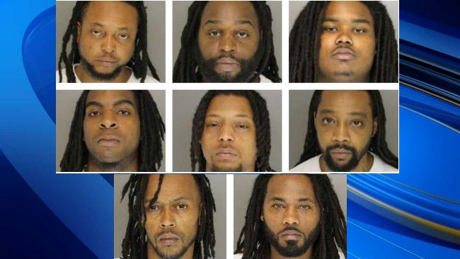 8 arrested in Moore County drug bust