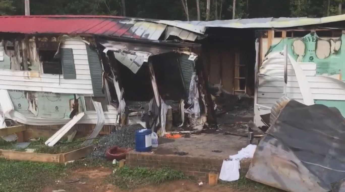 NC boy and woman found dead in fire, boyfriend arrested | CBS 17