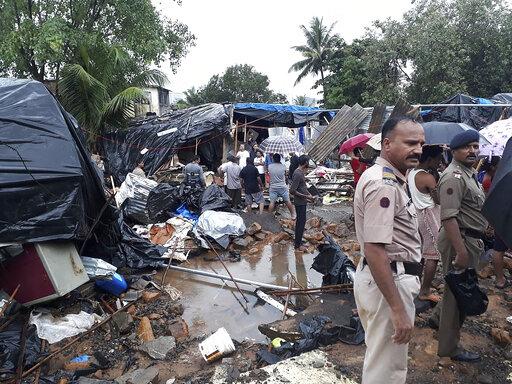 Multiple walls collapse in India monsoon rains, killing 31 – CBS 17 com