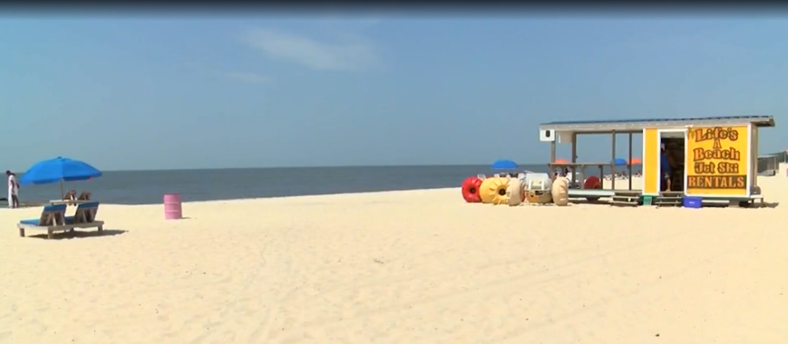 Bacteria Closes Mississippi Gulf Coast Mainland Beaches Cbs 17