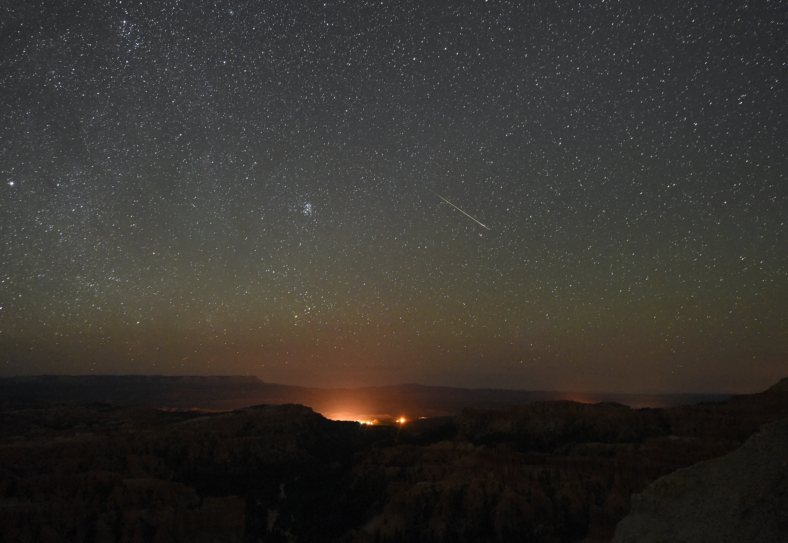 Double meteor showers will light up the night sky tonight